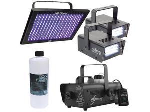 Chauvet Fog, Strobe and UV LED Light Pack