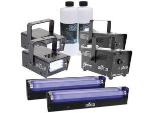 Chauvet Lighting Pack with Fog, Strobe, and LED UV