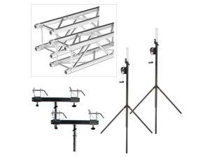 Global Truss ST-90 Crank Stand with F24 10ft Truss Pack