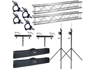 Global Truss ST-90 F24 10 ft Pack w/ Bags & Clamp