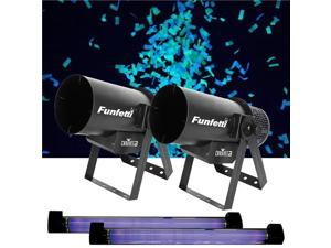 Chauvet Funfetti and Black Light Two Pack