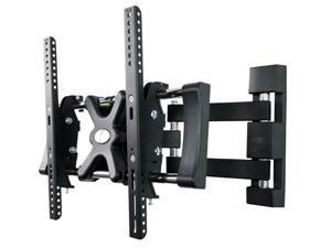 Loctek Black Articulating LCD LED TV Wall Mount Bracket for 32''-42'' TVs up to 35kg
