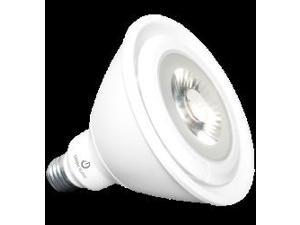 16W - PAR38 LED- 3000K - 1050 Lumen - Medium Base - Dimmable - FL Light Bulb - GreenCreative 40653