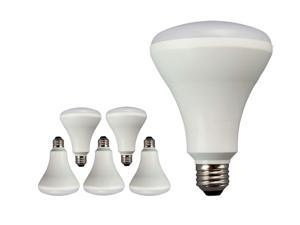 TCP - LBR301027KND6 - 6 Pack - 10W - BR30 - E26 - 2700K - 20000 Hour - Non-Dimmable - LED Light Bulb