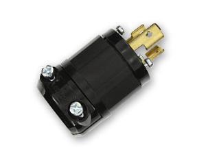 NEMA L7 - L15P - BLACK - LOCKING PLUG - 15A - 277V