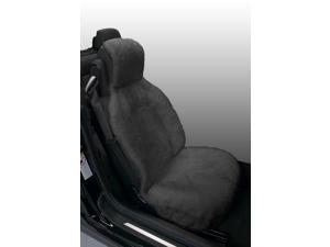 Genuine Australian Sheepskin Sideless Seat Cover - Gray
