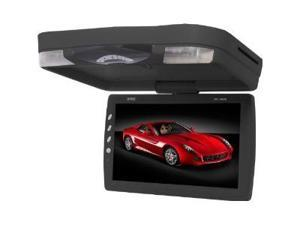 Absolute DFL1550IRB 15-Inch Flip Down Monitor with TFT Display, Built-in DVD Player, Game Function, USB/SD Card and IR Transmitter Function (Black)