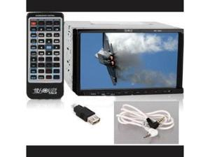 Absolute DD-1000 7-Inch In-Dash Motorized Double Din Touch Screen System