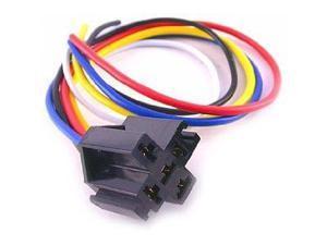 Absolute SRS105 5-Pin 12 VDC Relay Socket Interlocking Styleby Absolute