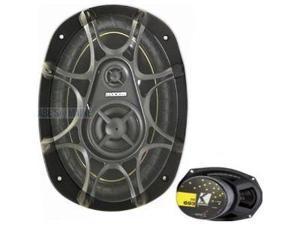 """Kicker DS693 6""""x9"""" 3-Way Speakers"""