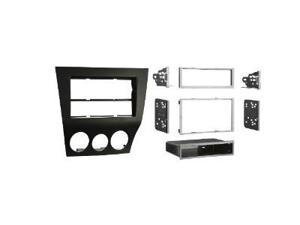 Metra 99-7515B Double Din Radio Provision 2009-2010 Mazda RX8 Kit (Black)