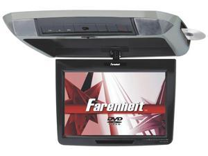 Farenheit MD-1120CMX Overhead 11.2-Inch Widescreen LCD Monitor with DVD Player with 3 Interchangeable Color Skins