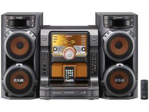 SONY CD/Radio 5-Disc Changer Muteki Hi-Fi Music System LBT-ZX66i