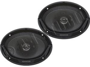 "Kenwood KFC-6965S 6x9"" 400 Watt 3-Way Car Coaxial Speakers"