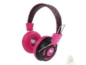 Hello Kitty KT2091BP Over the Ear Foldable Stereo Headphones