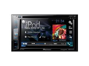 """Pioneer AVH-X3700BHS DVD Receiver with 6.2"""" Display, BT, Siri Eyes Free, Sat-Ready, HD Radio, Android Music Support, Pandora, and Dual Camera Inputs"""