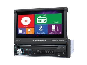 "Power Acoustik  1-DIN Source Unit w/ Motorized 7"" LCD & Mobile Link X2"