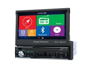 Power Acoustik PDN-726B 1-DIN GPS Navigation, DVD, CD/MP3, AM/FM Receiver w/ Bluetooth & 7 Inch LCD screen