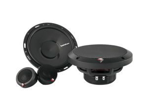 "Rockford Fosgate Punch P165-SI 6.5"" 2-Way Euro-Fit Compatible Component System w/ Internal Xover"