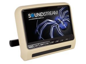 Soundstream SHAD-9H 9 Inch LCD Universal Headrest Mount DVD Player
