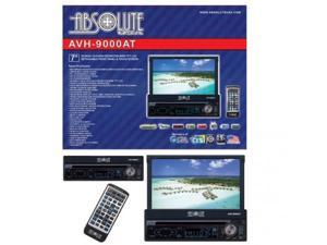 "Absolute AVH9000AT ABSOLUTE 7"" MOTORIZED DETACHABLE FACE INDASH TFT LCD MONITOR, TOUCH SCREEN WITH DVD, CD, MP3, MULTIMEDIA PLAYER & USB & SD CARD INPUT & ANLOG TV TUNER & TOUCH BUTTON"