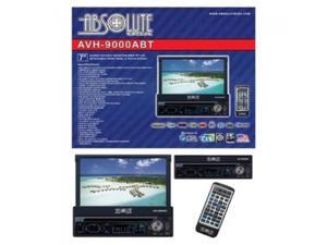 "Absolute AVH9000ABT ABSOLUTE 7"" MOTORIZED DETACHABLE FACE INDASH TFT LCD MONITOR, TOUCH SCREEN WITH DVD, CD, MP3, MULTIMEDIA PLAYER & USB & SD CARD INPUT & ANLOG TV TUNER & BLUE TOOTH & TOUCH BUTTON"
