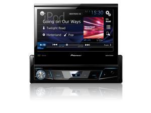 "Pioneer AVH-X6800DVD 1-DIN DVD Receiver with 7"" Flip-out Display, Spotify®, and AppRadio One"