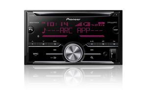 Double-DIN In-Dash CD Receiver with MIXTRAX(R), Bluetooth(R) & SiriusXM(R) Ready - FH-X730BS