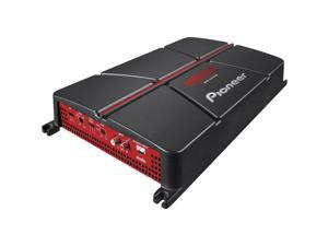 Pioneer GM-A5702 2-Channel Bridgeable Amplifier with Bass Boost ,Black/red