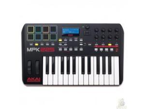 Akai MPK225 Akai introduces new MPK MIDI controller keyboards