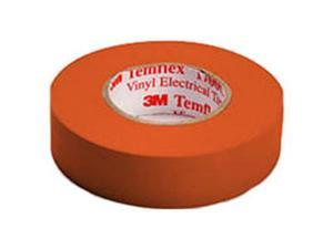 "3M 1700C ORANGE TEMFLEX Temflex™ Vinyl Electrical Tape, 3/4"" x 60', Orange"