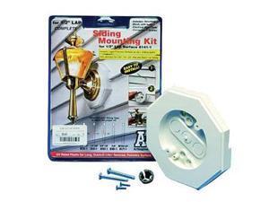 Arlington 8161 Siding Mounting Kit with Built-in Box