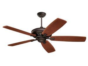 "Emerson CF788ORB 54"", 60"", or 70"" Carrera Grande Eco Ceiling Fan, Oil Rubbed Bronze (Blades Sold Separately)"