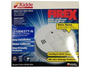 Kidde 21006377-N Combo Smoke/Carbon 120V with 9V Battery Backup