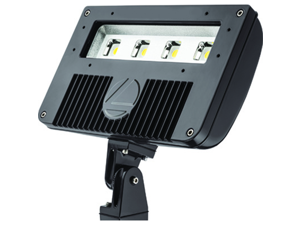 Lithonia DSXF2-LED-3-A530/50K Size 2 LED Flood Luminaire, 3 COB Engines, 5000K