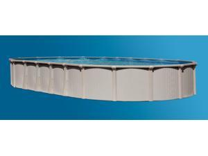"Bermuda 15'X30' Oval 54"" Aluminum Above Ground Swimming Pool"