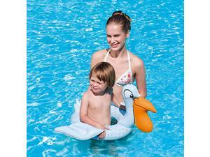 Inflatable Animal Swim Ring for Small Children - Pelican