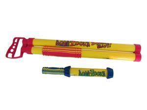 """Aqua Zooka 24"""" Double Shot - Super Soaker Water Gun Bazooka bonus 12"""" Aqua Zooka"""