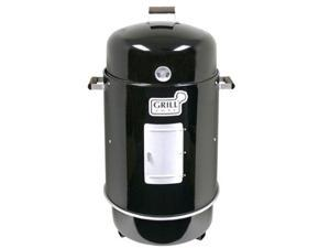 Brinkmann 852-7080-V Gourmet Charcoal Smoker and Grill with Vinyl Cover - Black