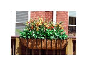 Griffith Creek Newport Window Box Planter 30 Inch  Black