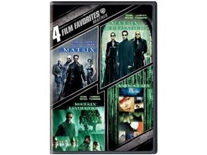The Matrix Collection: 4 Film Favorites (DVD / WS) Keanu Reeves, Laurence Fishburne, Carrie-Anne Moss, Hugo Weaving, Joe ...
