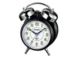 Casio Snooze Micro-light Desktop Black/White Bell Sound Alarm Clock TQ362-1B