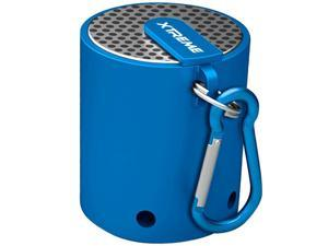 Xtreme Up to 8 Hours Music Playback Bluetooth Mini Travel Blue Speaker 51864