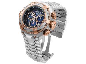 Invicta Bolt Men's Analog Rose Gold-Tone Swiss Quartz Stainless Steel Watch 21342