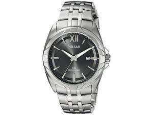Pulsar Men's Analog Quartz Stainless Steel Watch PH9083