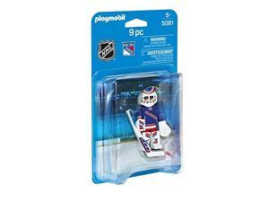 Playmobil Sports and Action NHL New York Rangers Goalie (for Kids 5 and up) 5081