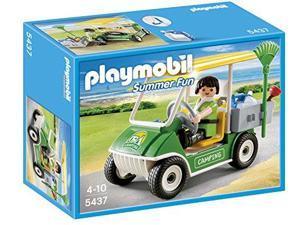 Playmobil Summer Fun Camping Service Cart Playset (For Kids 4 - 10) 5437