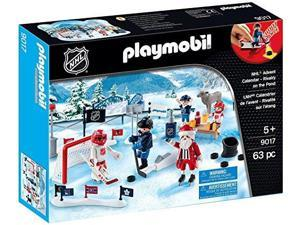 "Playmobil NHL Advent Calendar ""Rivalry on the Pond"" 9017 (for Kids 5 and up)"