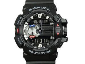 Casio G-Shock G'Mix Bluetooth Smart Mobile Link Black Resin Watch GBA400-1A