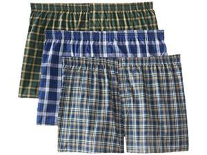 Fruit of the Loom Men's Boxer Shorts 3-Pack, style 590, Size L (Assorted)